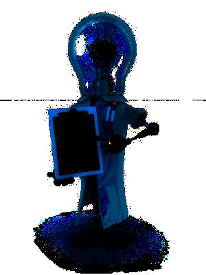 Researcher-robot